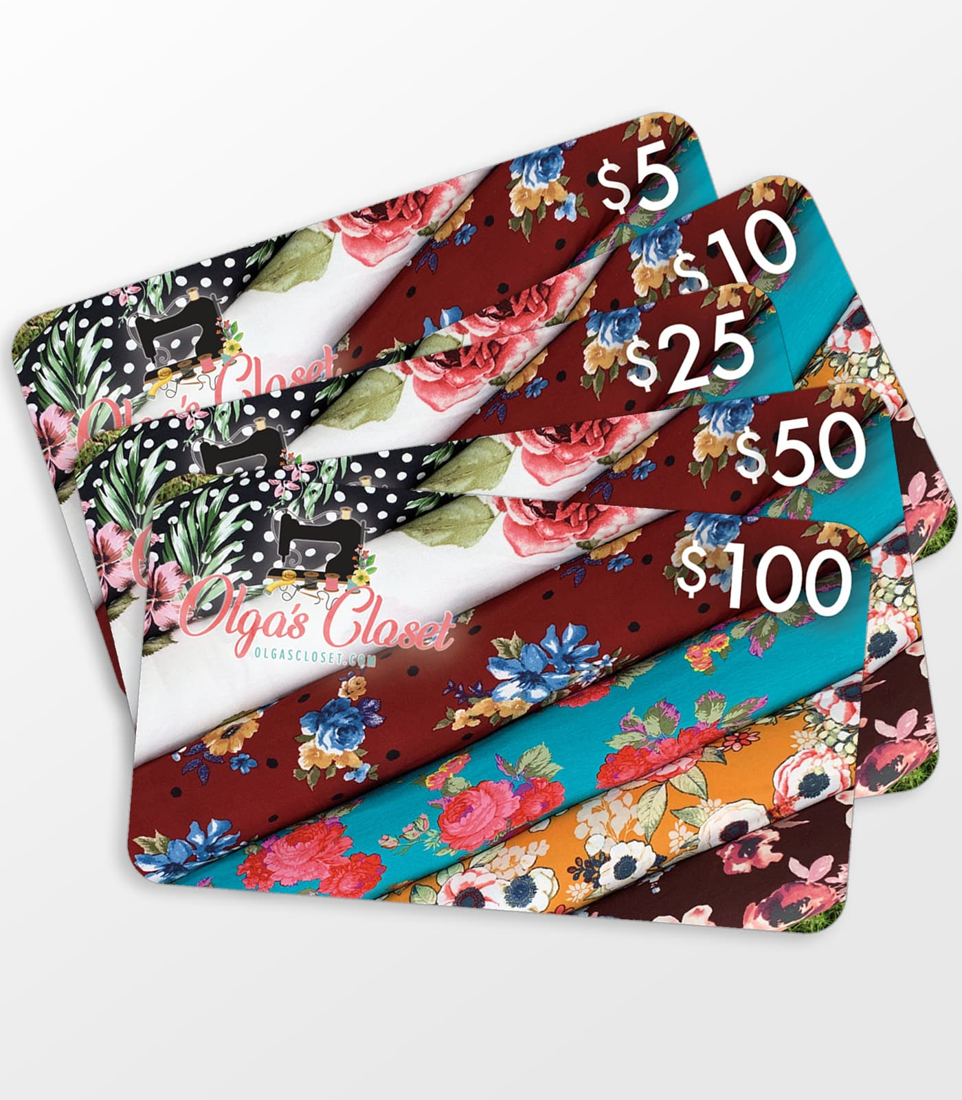 Knit Fabric Gift Card