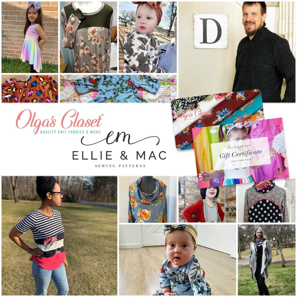 Ellie & Mac Sewing Patterns Giveaway