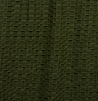 Olive Honeycomb/Solid Poly Spandex Athletic Knit
